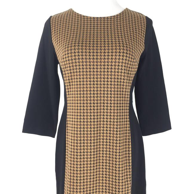 Talbots short dress Brown Preppy Houndstooth Careerdress on Tradesy Image 1