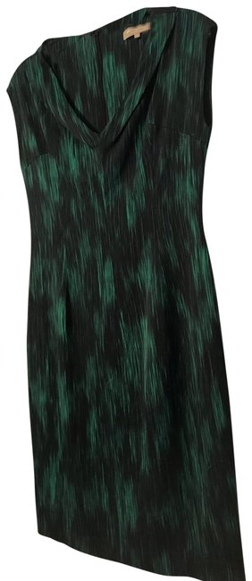 Item - Green Cady Mid-length Night Out Dress Size 10 (M)