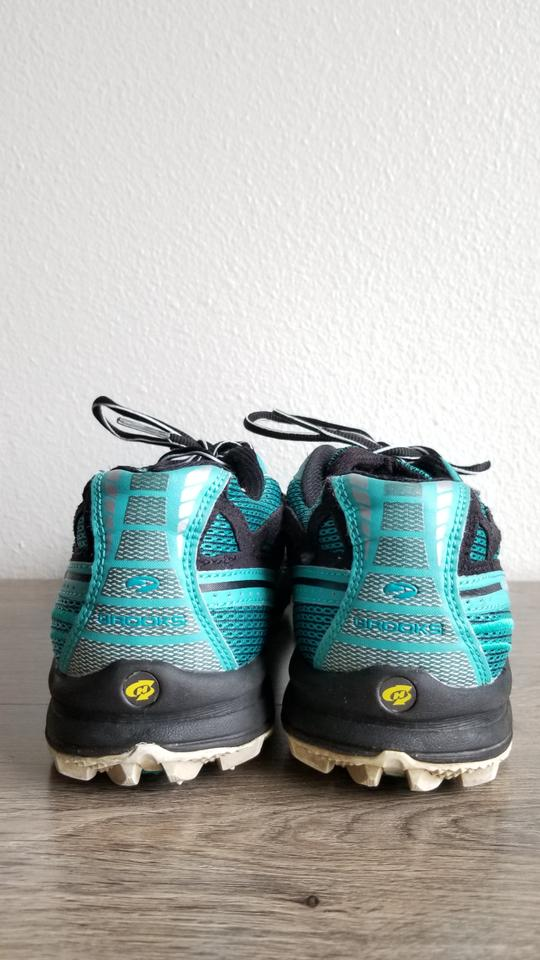 ebd73a3bb1d7a Brooks Teal Black Cascadia Pivot 4 Trail Running Sneakers Size US 10  Regular (M