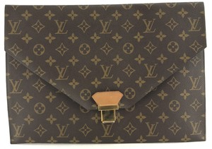 Louis Vuitton  27851 Large Jacques Gm Tote Lv Logo Epi Black Leather ... 53671b3bec6de