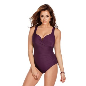 Miraclesuit Wraptress Molded Cup Tummy Control Swimsuit 8