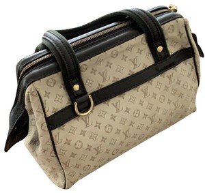 Louis Vuitton Tote in green and beige