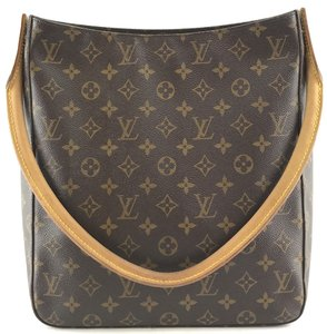 Louis Vuitton Looping Gm Tote Shoulder Bag. Louis Vuitton Looping Bucket   27630 Tote Monogram Coated Canvas ... 6ebe75eebd50b