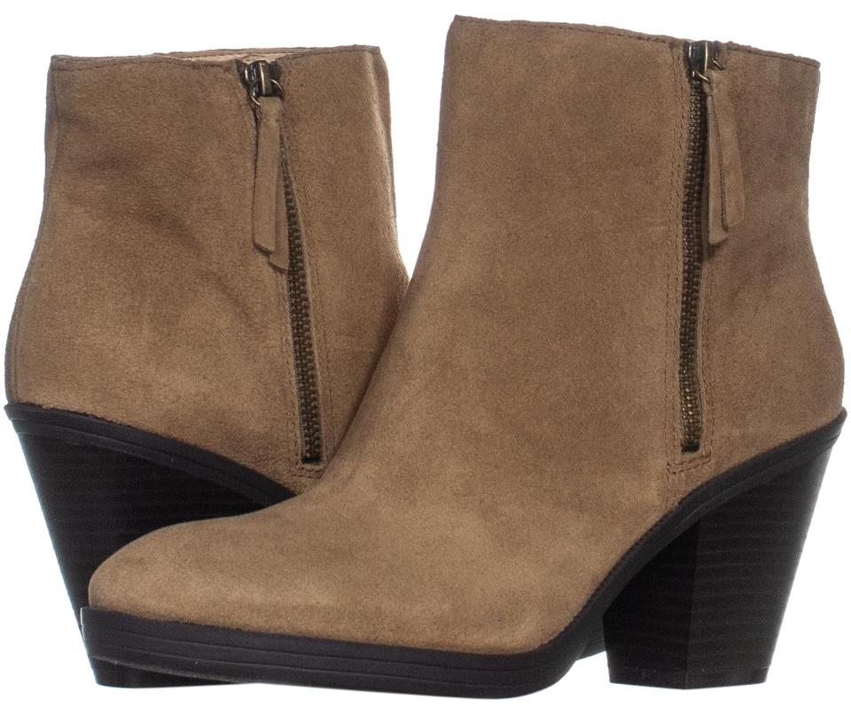 c683865c905 Enzo Angiolini Beige Elysian Block Heel High Ankle 444 Taupe Boots/Booties  Size US 11 Regular (M, B) 63% off retail