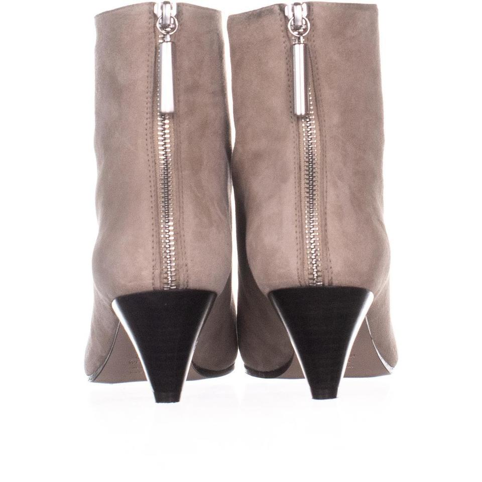 Stuart Weitzman Beige Pyramid Ankle 277 Brownstone Suede Boots/Booties Size  US 7 5 Regular (M, B) 58% off retail