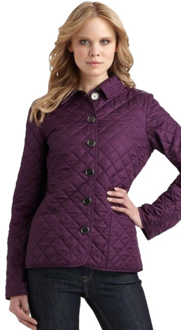 Preload https://img-static.tradesy.com/item/24982070/burberry-purple-quilted-classic-nova-check-lined-jacket-size-4-s-0-2-650-650.jpg