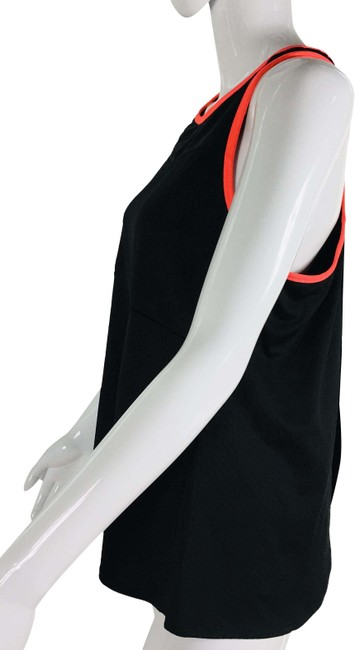 Item - Black With Neon Pink Activewear Top Size 12 (L)