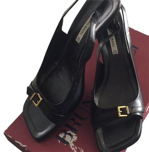 Bruno Magli Austen Black Sandals