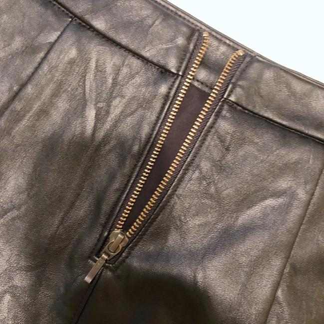4304daa3ca198 CAbi Black Vegan Leather Pencil Skirt Size 0 (XS, 25) - Tradesy