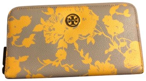 Tory Burch Satchel in Yellow/Gray