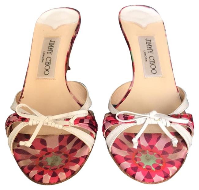 Item - Pink and White Cairo.3 Sandals Size EU 36 (Approx. US 6) Regular (M, B)
