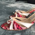 Jimmy Choo Pink and White Sandals Image 2