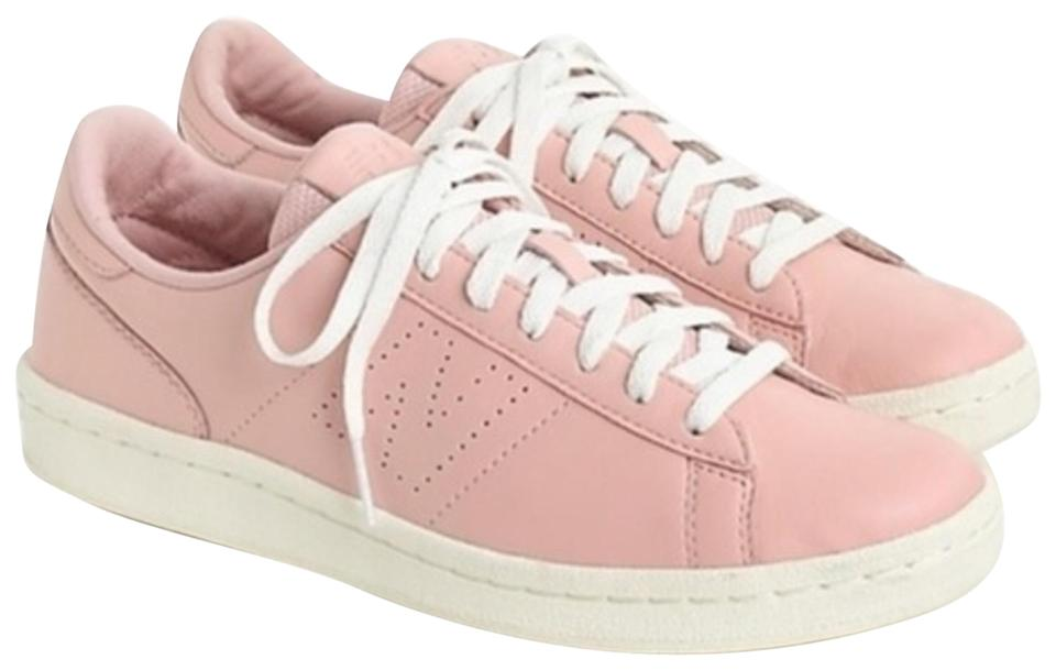 a7b353a4a8b14 New Balance Pink Womens For J.crew 791 Leather Court Sneakers Size ...