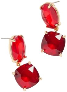 Urban Outfitters urban ruby stone drop earring
