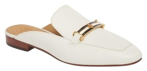 Tory Burch Sandals Flats Loafers White ivory Mules