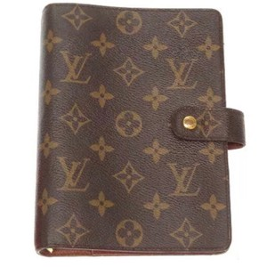 Louis Vuitton Louis Vuitton Classic LV Monogram MM Medium Ring Agenda