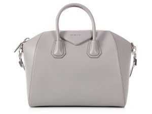 Givenchy Gv.q0103.02 Silver Hardware Top Handle Satchel in Gray