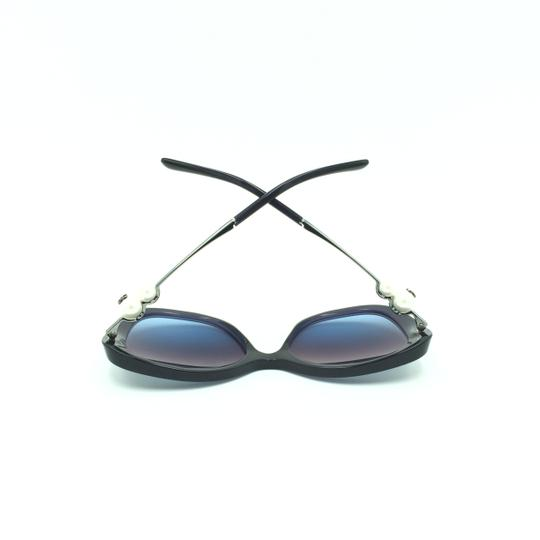Chanel Chanel Transparent Blue Pearled Butterfly Cat Eyed Sunglasses 5339-H