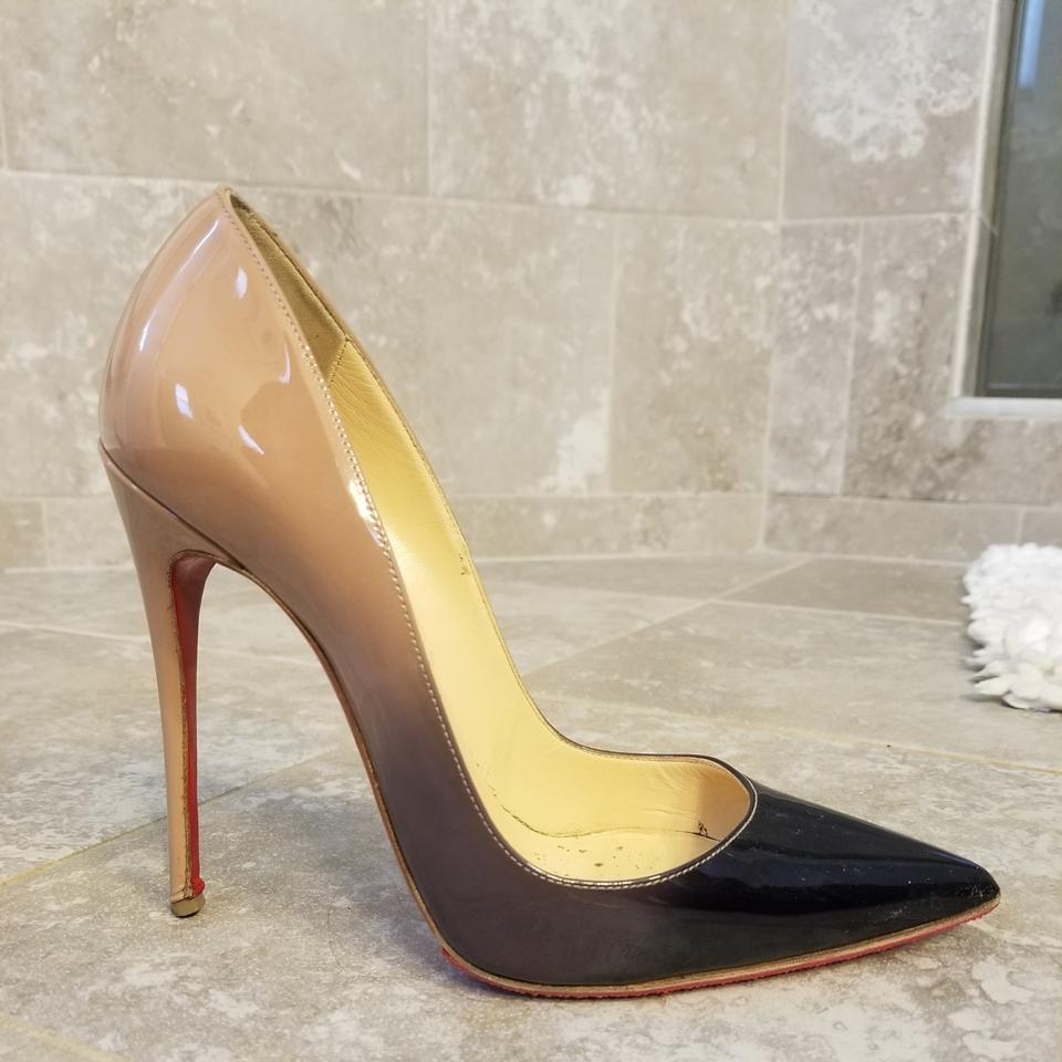 94d0b6522b Christian Louboutin Black and Nude So Kate 120 Pumps Size EU 37 ...