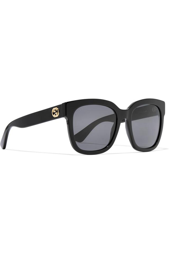 20f6db3181 Gucci Square-frame acetate sunglasses Image 0 ...