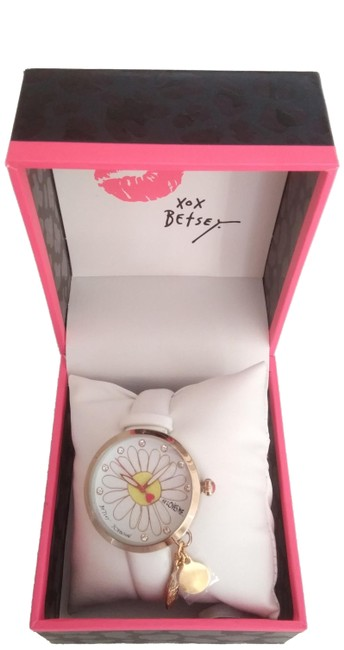 """Item - White New """"He Loves Me"""" Watch"""