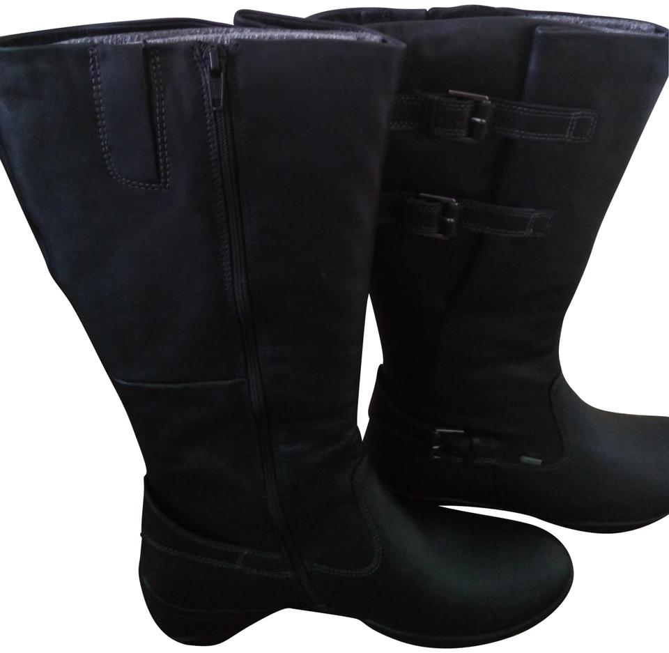 b6dc598724e Ecco Black Rise High Cut Zip Boots Booties Size EU 41 (Approx. US 11 ...