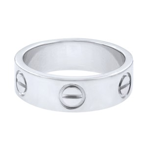 Cartier Love 5.5mm Wide Band Ring Size 49