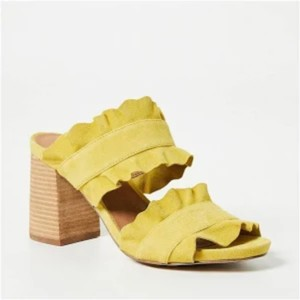 Free People Yellow Pumps