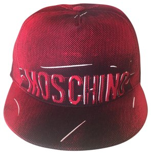 Moschino Men's MOSCHINO Couture label hat, NWT