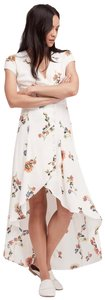 White Maxi Dress by Free People Midi Floral
