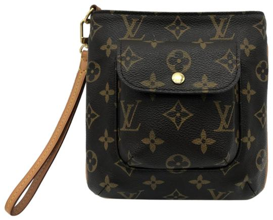 Preload https://img-static.tradesy.com/item/24986789/louis-vuitton-partition-monogram-clutch-brown-coated-canvas-wristlet-0-1-540-540.jpg