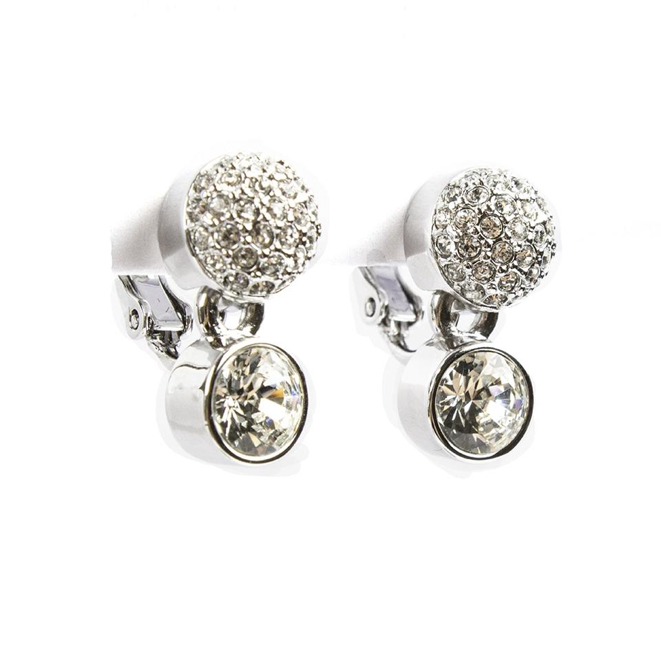 Swarovski Cry Rhs New Embrace Clip 5030671 Earrings