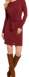 I.N. San Francisco short dress Bordeaux on Tradesy