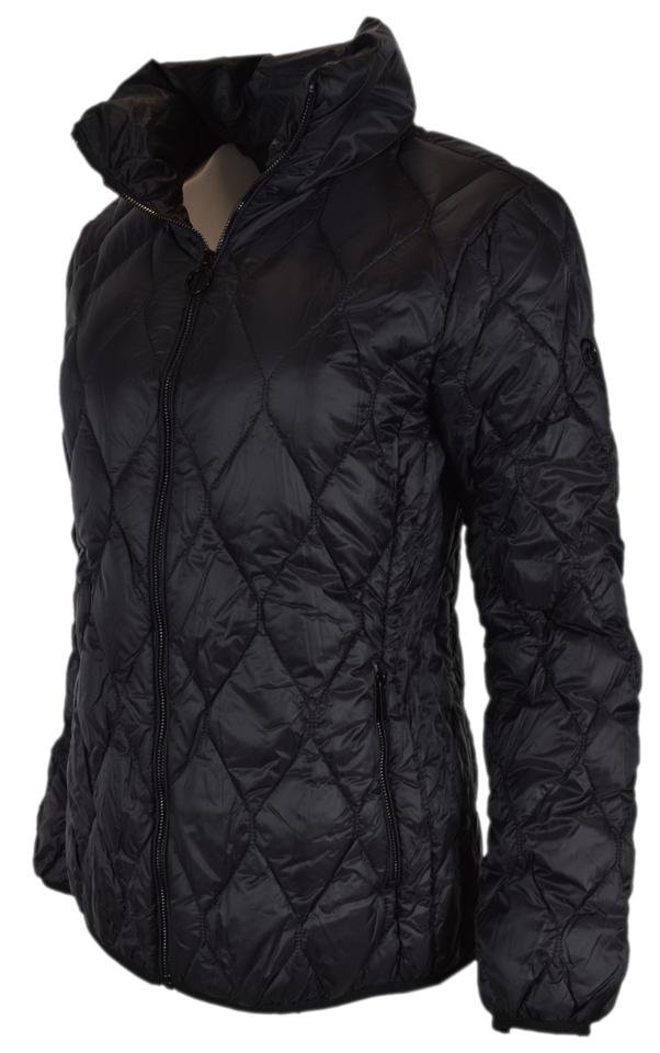 b70e8aab0 MICHAEL Michael Kors Black New Quilted Nylon Packable Down Puffer Jacket  Coat Size 8 (M) 35% off retail