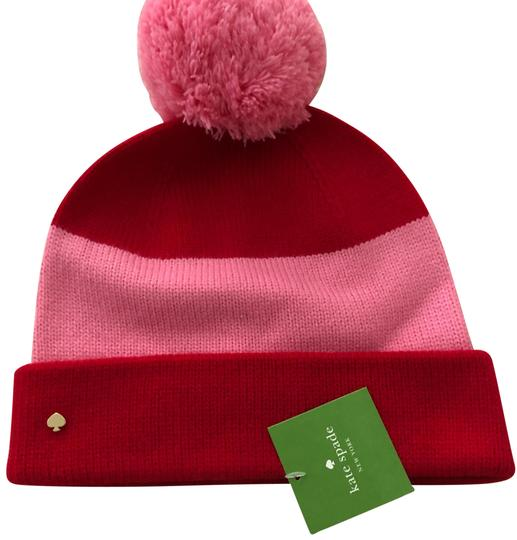 Preload https://img-static.tradesy.com/item/24987567/kate-spade-red-and-pink-hat-0-1-540-540.jpg