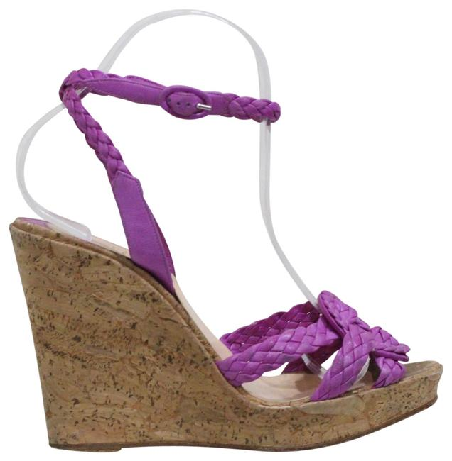 Item - Purple Marilou Zeppa Leather Wedges Pumps Size EU 38 (Approx. US 8) Regular (M, B)