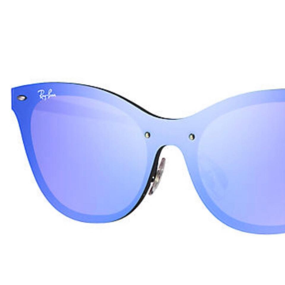 175a36fe50 Ray-Ban Blue Violet Blaze Cat Eye Sunglasses - Tradesy