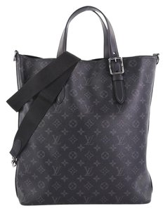 Louis Vuitton Canvas Tote in black
