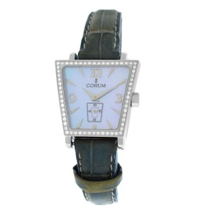 Corum Authentic Ladies Corum Trapeze 105.404.47 Steel Diamond MOP Quartz