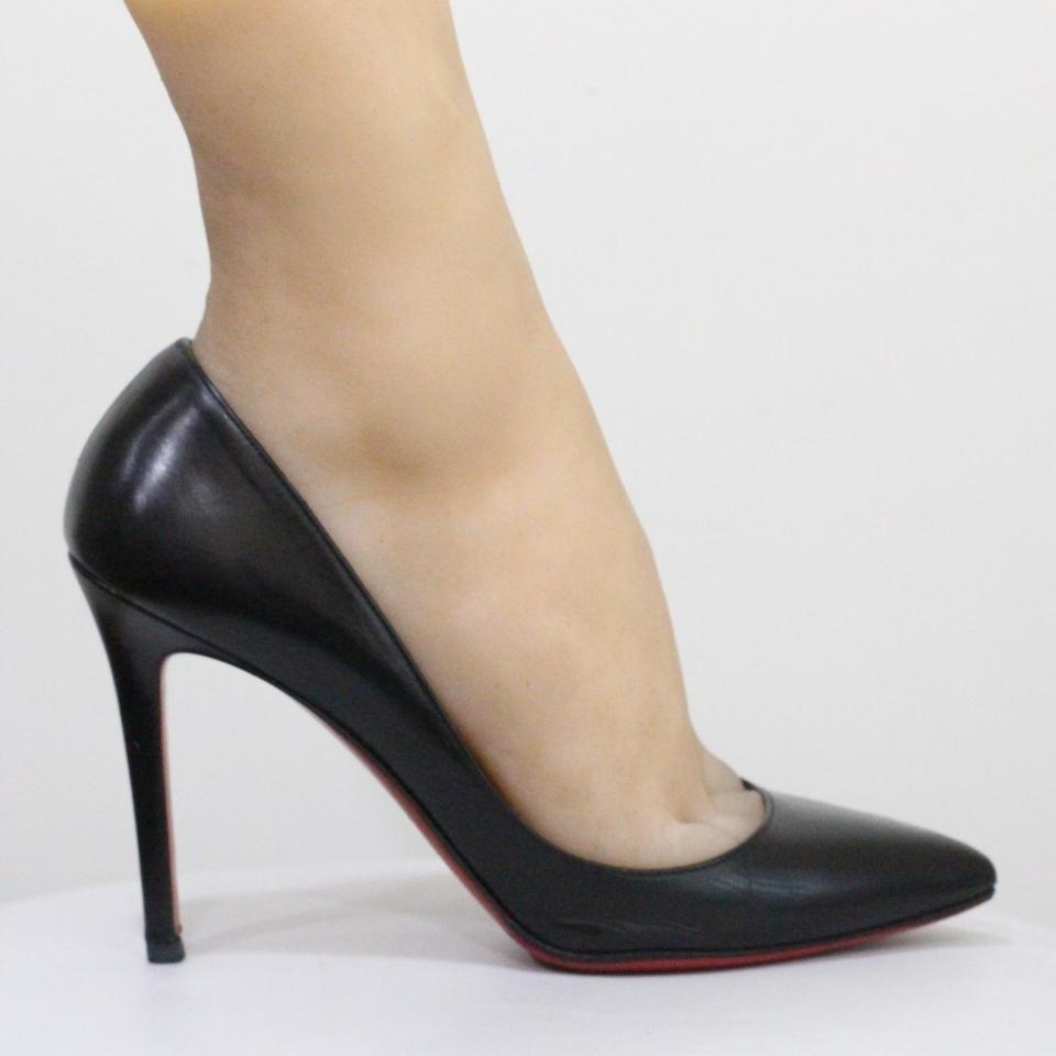 online store c0075 7d17b Christian Louboutin Black Pigalle 100 Leather Pumps Size EU 37 (Approx. US  7) Regular (M, B) 30% off retail