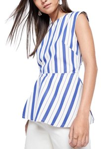 Sofie D'Hoore Top blue and white stripe
