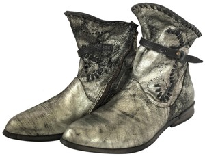 A.S. 98 Silver Boots