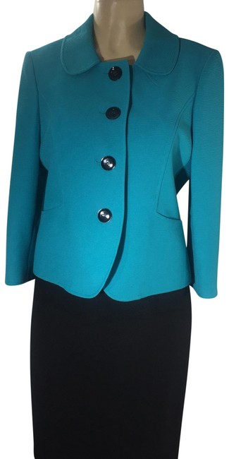 Item - Turquoise 3 Button Dressy Skirt Suit Size 10 (M)