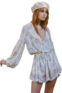 43e80737be79 Spell & the Gypsy Collective short dress White Floral Boho Bohemian on  Tradesy