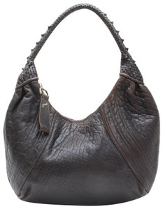 85955dbf3308 Fendi Xl Shoulder Spy Mint Condition Handle Hobo Bag