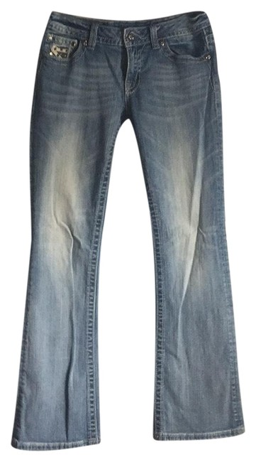 Miss Me See Photos Boot Cut Jeans Size 8 (M, 29, 30) Miss Me See Photos Boot Cut Jeans Size 8 (M, 29, 30) Image 1