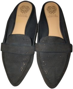 Vince Camuto Blue Mules
