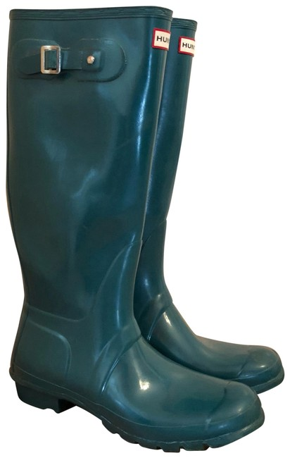 Item - Green Gloss W23616 Boots/Booties Size US 9 Regular (M, B)