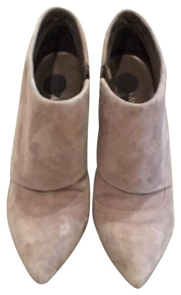 daec09b71 Enzo Angiolini Grey Suede - Boots Booties Size US 8 Regular (M
