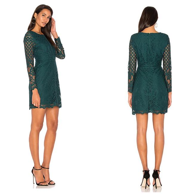 6ca33a54172 cupcakes and cashmere N W T - Forest Green Spence Lace Short ...
